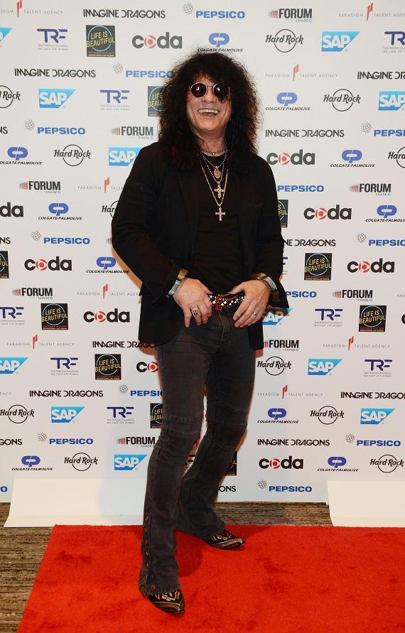 Paul Shortino, star of Raiding the Rock Vault