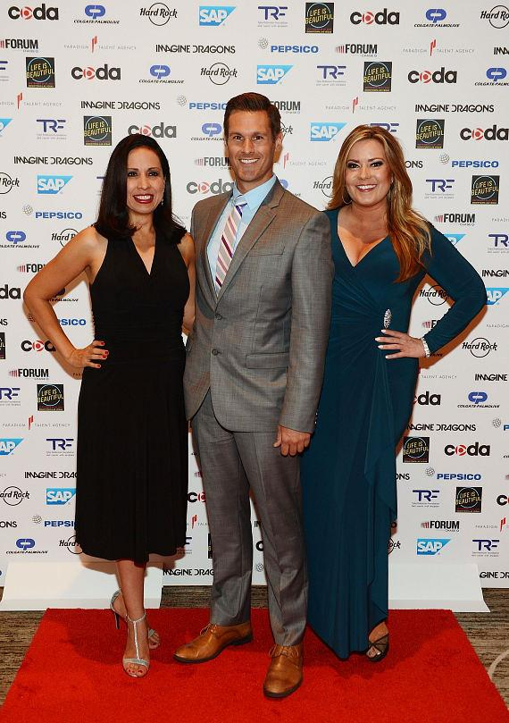 Fox 5's Maria Silva, Sean McAllister and Rachel Smith