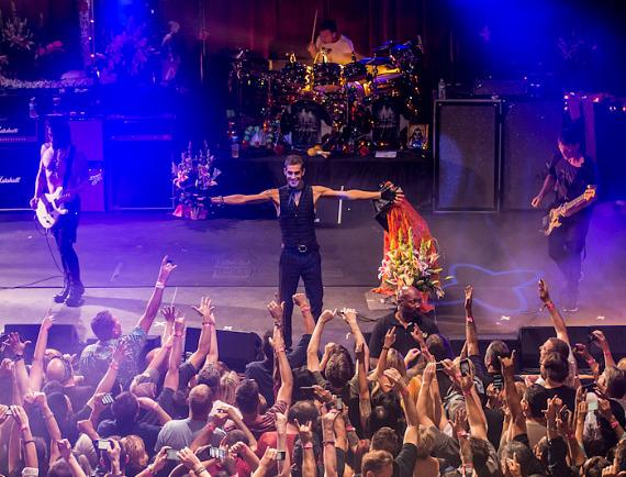 Jane's Addiction performs at Brooklyn Bowl Las Vegas at The LINQ