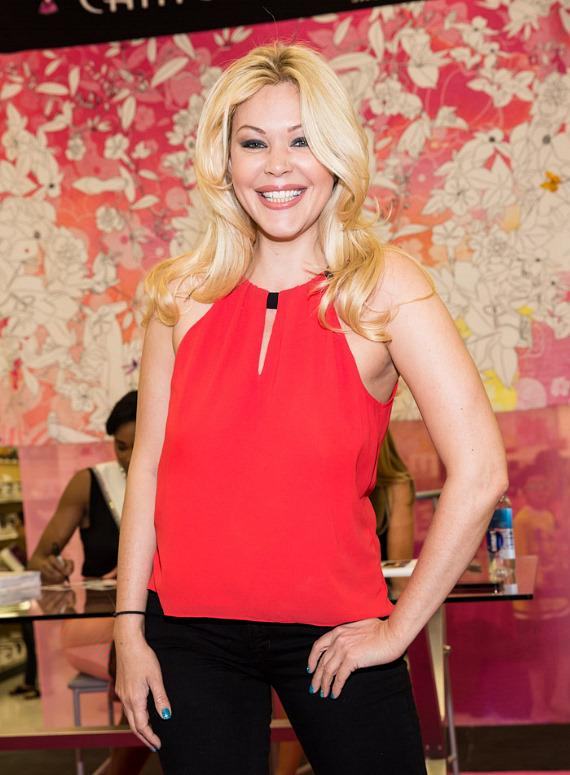 Shanna Moakler at Nellis Air Force Base