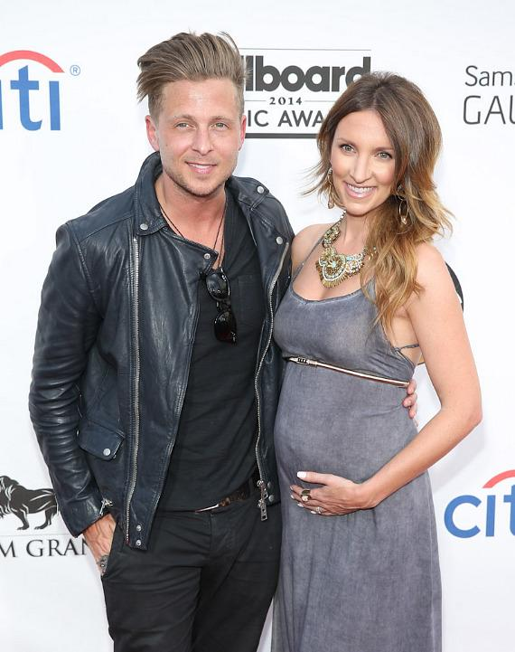 Ryan Tedder of OneRepublic and Genevieve Tedder