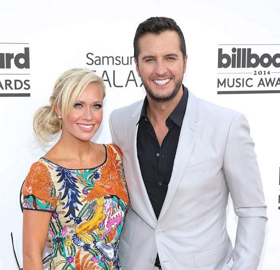 Luke Bryan and his wife Caroline Boyer