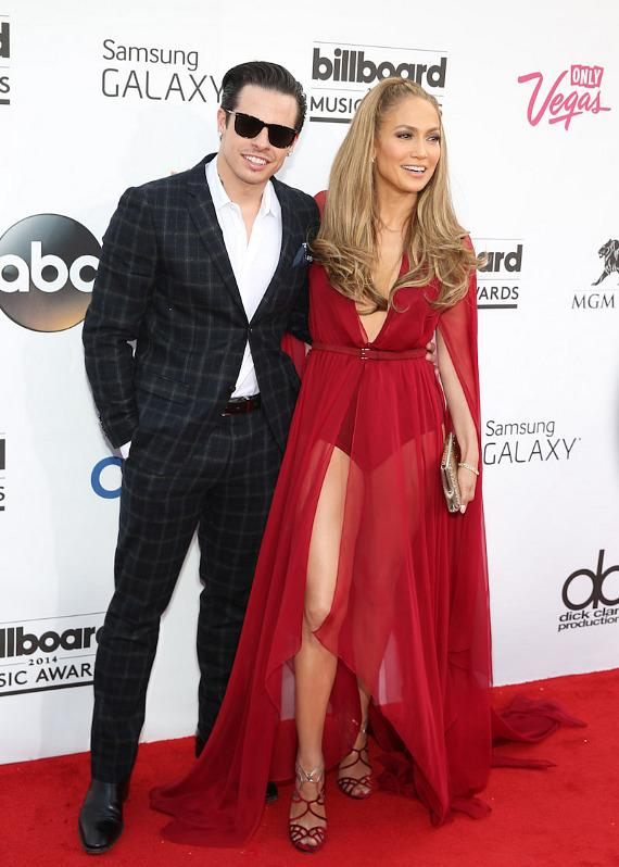 Casper Smart and Jennifer Lopez