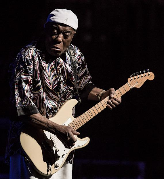 Guitarist Buddy Guy performs t The Smith Center For The Performing Arts in Las Vegas