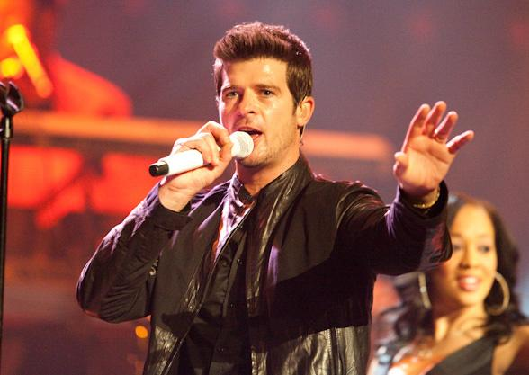 Robin Thicke at The Palms
