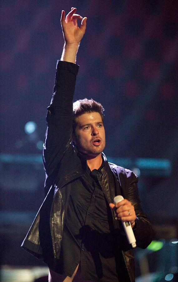 Robin Thicke at The Pearl at The Palms