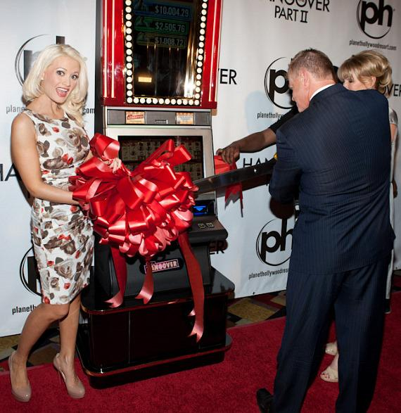 Holly Madison unveils new IGT Hangover Slot Machine