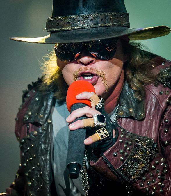 "Guns N' Roses Launch Second Residency ""An Evening of Destruction. No Trickery!"" at The Joint in Hard Rock Hotel Las Vegas"