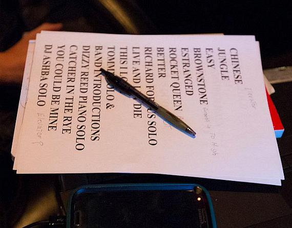 Set list for Guns N' Roses at The Joint in Las Vegas