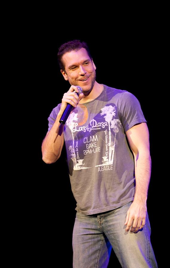Dane Cook performing at The Pearl at The Palms