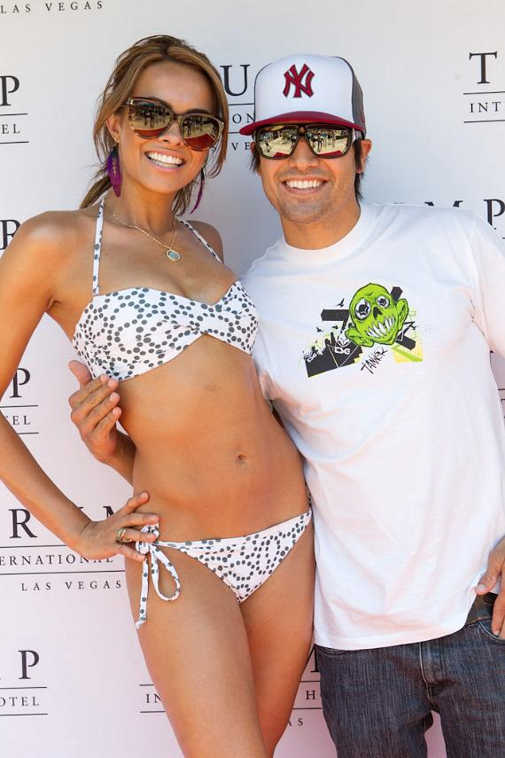 Miss Nevada Jade Kelsall with Ricardo Laguna