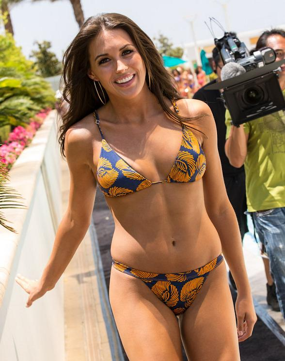 Miss USA 2012 contestants in Kooey Bikini Fashion show at TRUMP Hotel