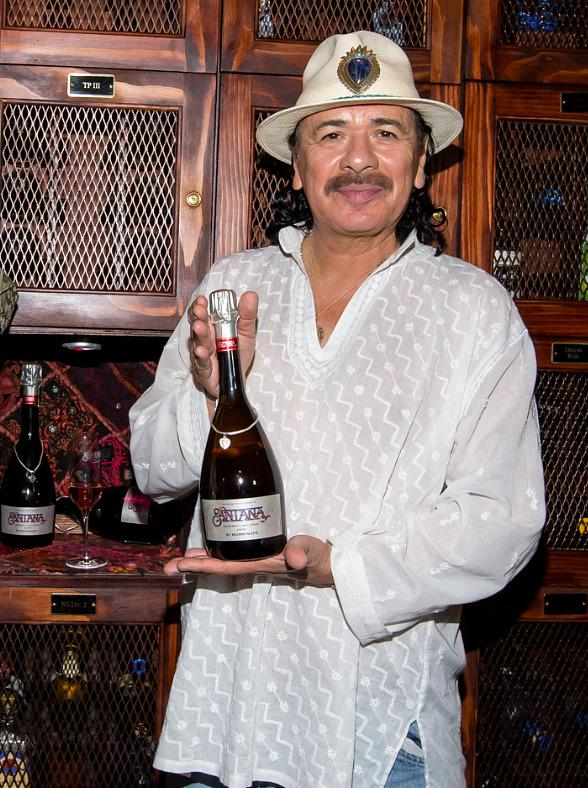 Santana Launches Supernatural Rosé Wine at Mandalay Bay