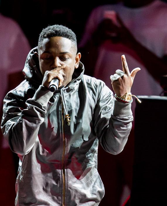 Kendrick Lamar performs at The Boulevard Pool at The Cosmopolitan of Las Vegas