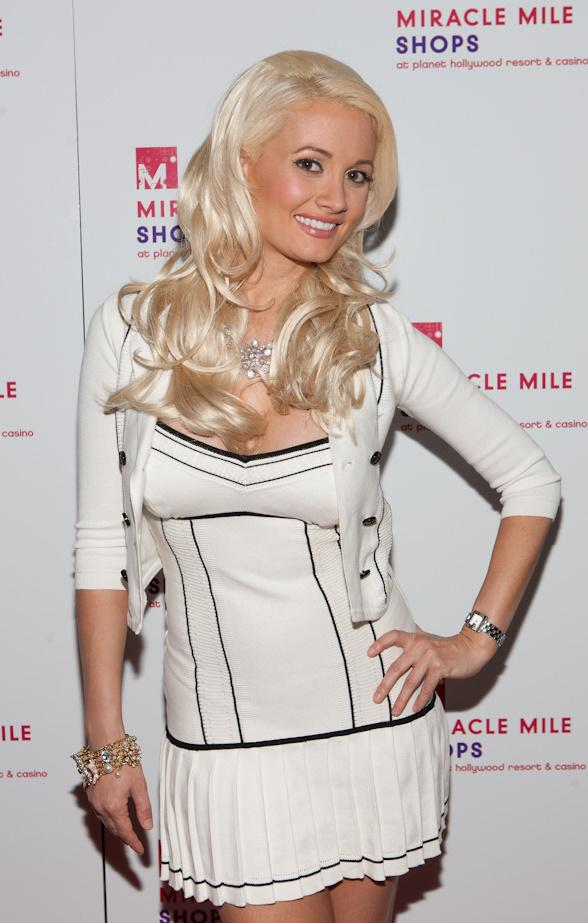 Holly Madison at Cabo Wabo at Miracle Mile