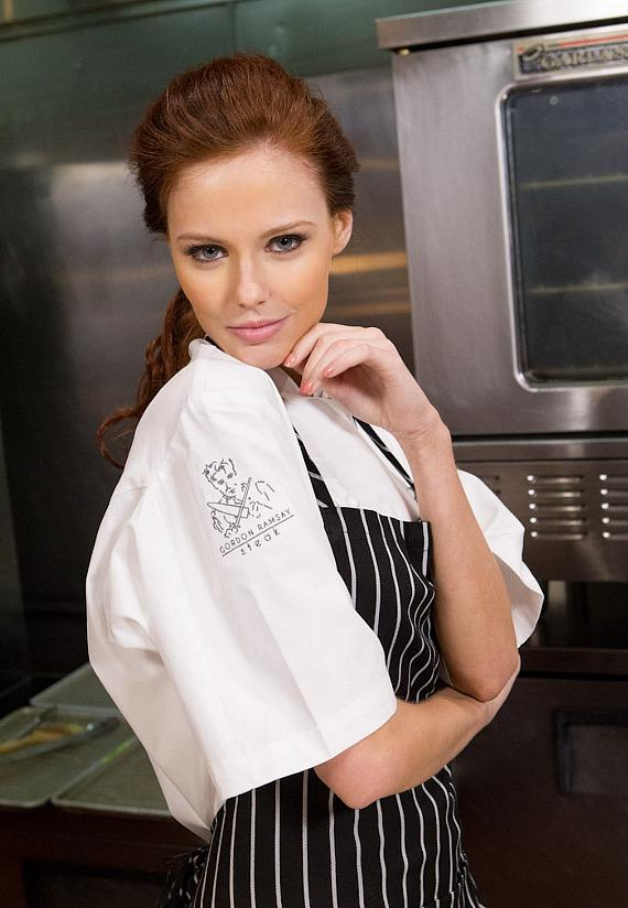 Miss USA Alyssa Campanella at Gordon Ramsay Steak