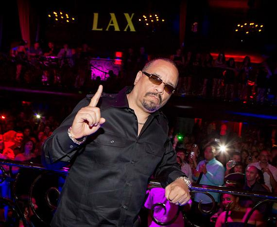 Ice-T at LAX Nightclub at Luxor in Las Vegas