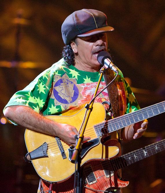 Carlos Santana at The New Joint at Hard Rock Hotel & Casino