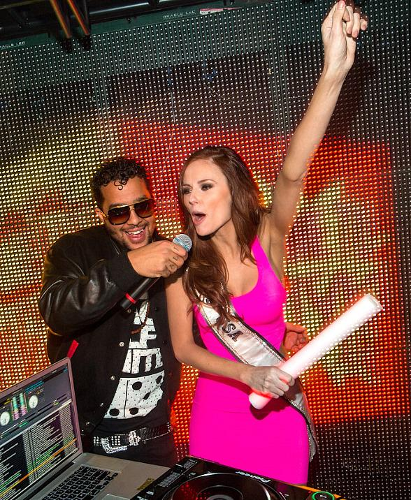 Sky Blu and Miss USA Alyssa Campanella 