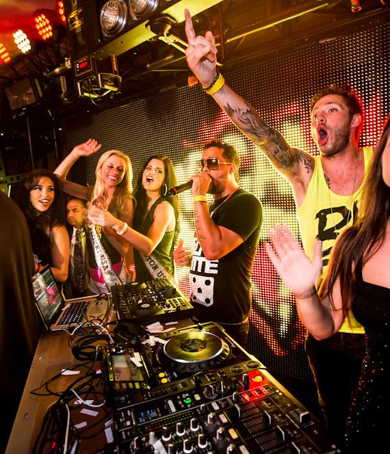 Sky Blu at PURE Nightclub in Las Vegas