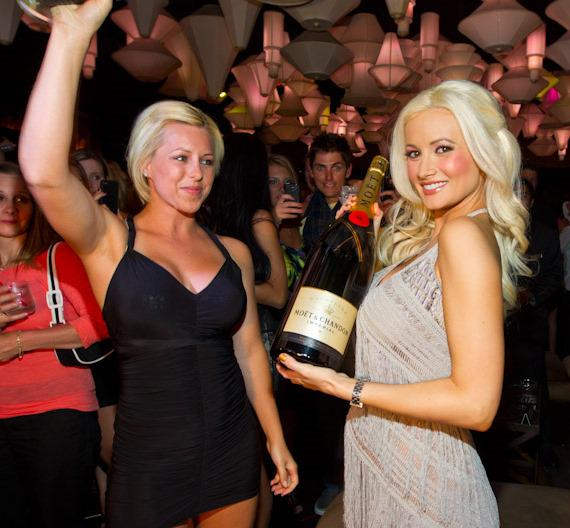 Holly Madison at Blush Boutique Nightclub