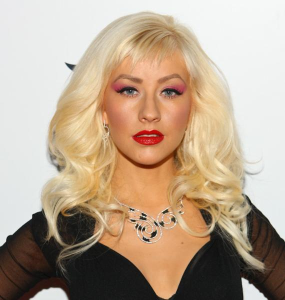 Christina Aguilera at TAO for launch of Stephen Webster's 2009 Collection