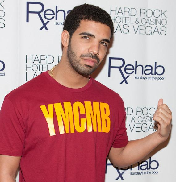 Drake at Rehab at Hard Rock Hotel in Las Vegas