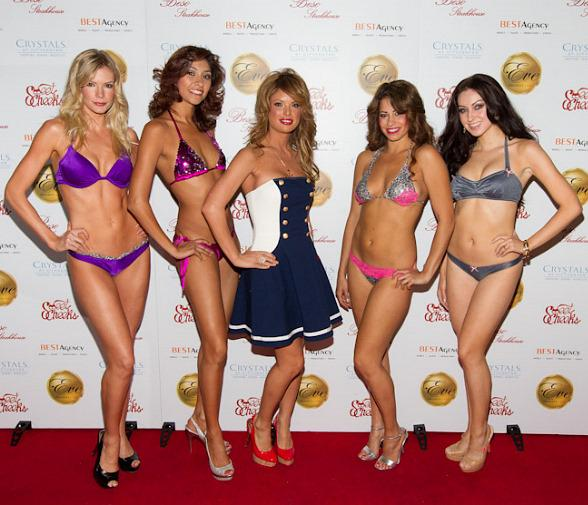 Laura Croft hosts SweetCheeks Bikini Fashion Show at Eve Nightclub