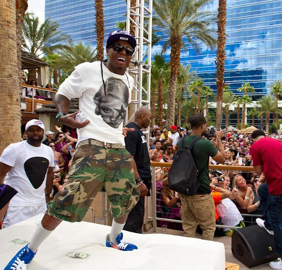 Lil Wayne at Rehab at Hard Rock Hotel in Las Vegas
