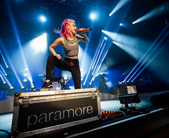 Paramore performs at The Joint at Hard Rock Hotel Las Vegas