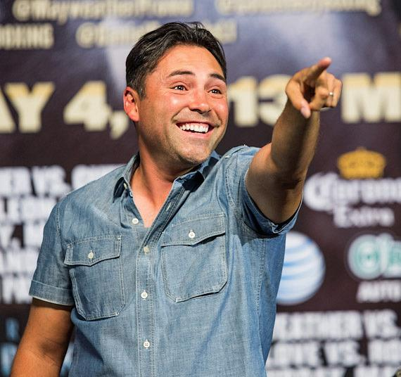 Oscar De La Hoya at MGM Grand Garden Arena