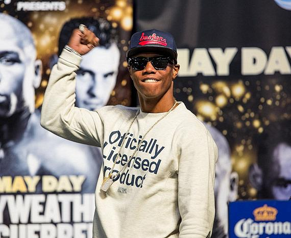 Zab Judah at MGM Grand Garden Arena