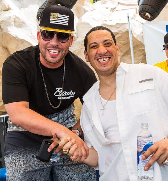 DJ Drama and Kid Capri at REHAB at Hard Rock Hotel & Casino