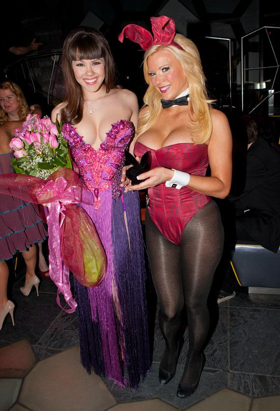Claire Sinclair and Playboy bunny