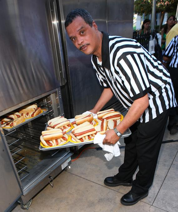 More hot dogs!
