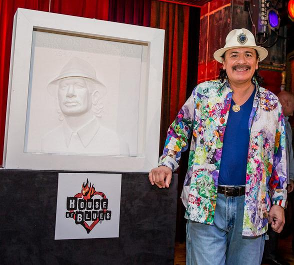 Carlos Santana Honored with
