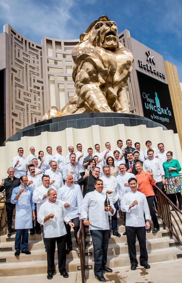 Legendary Chefs Usher in Vegas Uncork'd by Bon Appétit at Hakkasan at MGM Grand Las Vegas