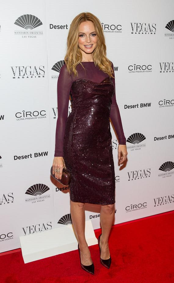 Actress Heather Graham at Vegas Magazine's 10th Anniversary celebration