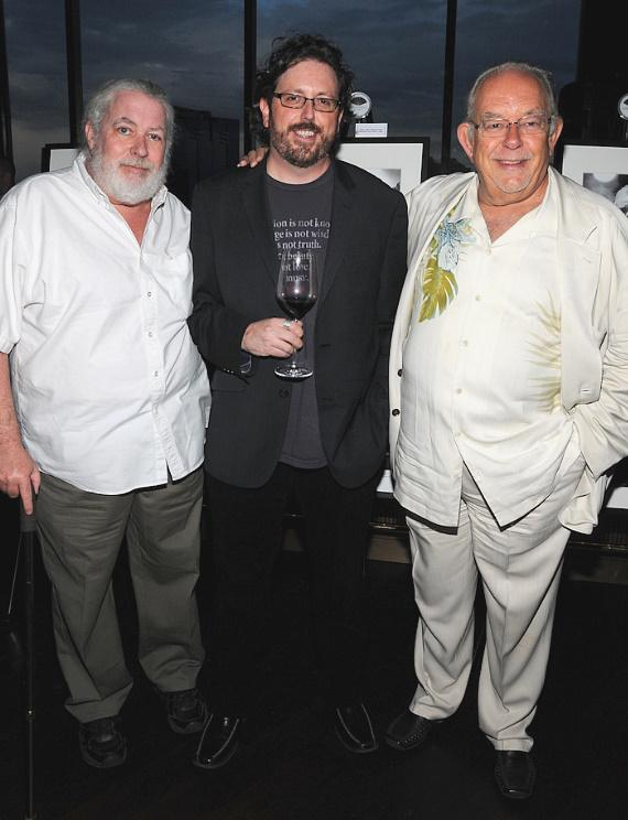 Marc Kabik, Erik Kabik and Robin Leach