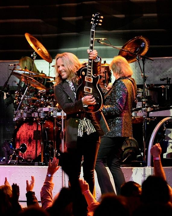 Styx performs at The Pearl at Palms Casino Resort in Las Vegas