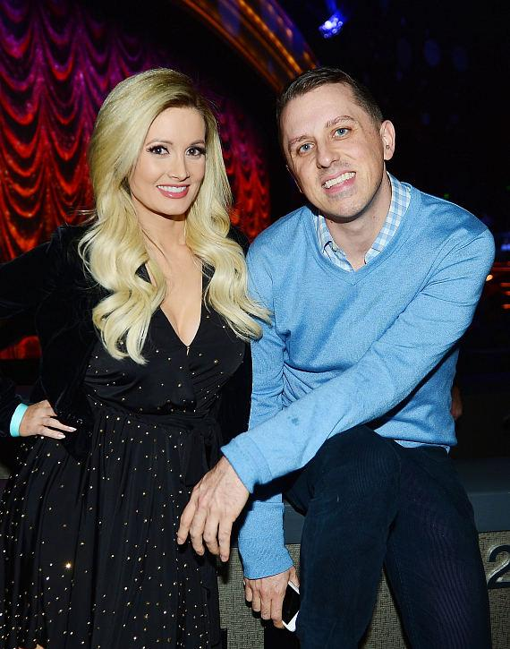 "Holly Madison with Mike Snedegar at ""Jennifer Lopez: All I Have"" at The AXIS at Planet Hollywood Resort & Casino"