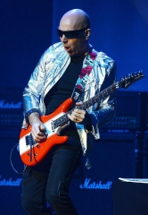 Guitarist Joe Satriani performs at The Pearl at Palms Casino Resort in Las Vegas