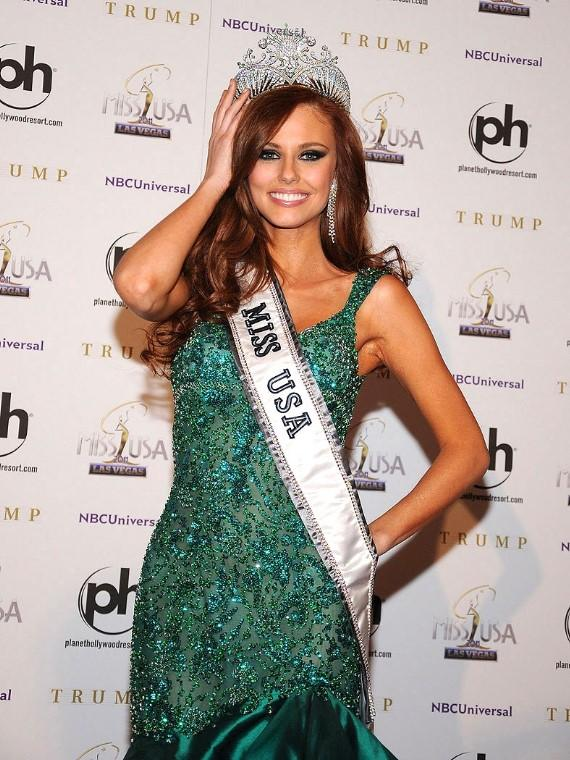 Miss California Alyssa Campanella is Crowned Miss USA 2011