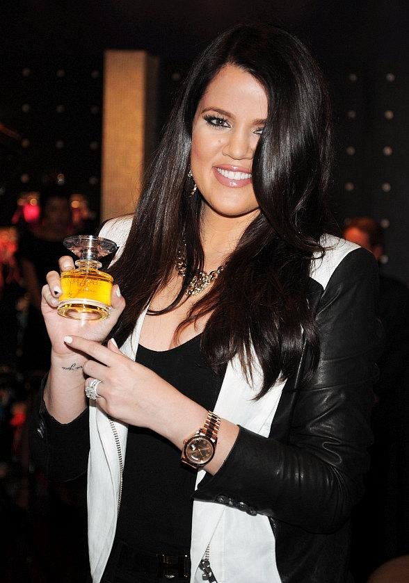 Khloe Kardashian promotes &quot;Unbreakable&quot; perfume at Kardashian Khaos