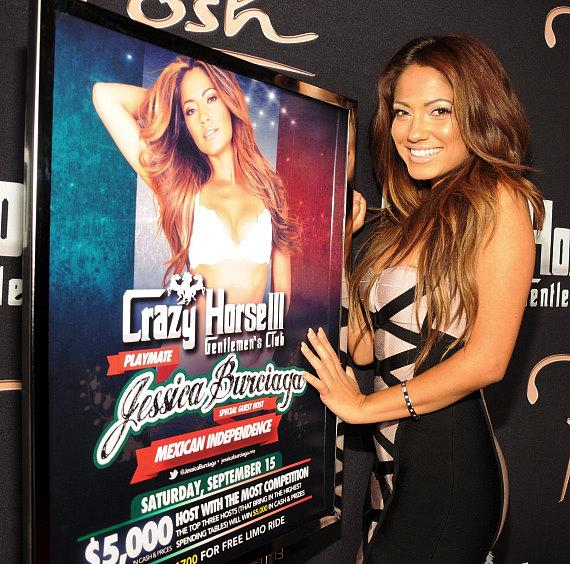 Jessica Burciaga at Crazy Horse III in Las Vegas