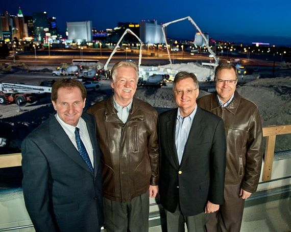 The SkyVue executive team (left to right): David Gaffin, Keith Robertson, Howard Bulloch, John Woods.