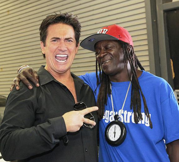 Gordie Brown and Flavor Flav