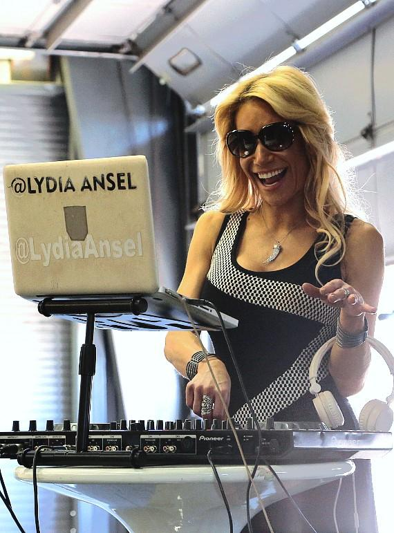 Hard Rock Hotel's resident DJ Lydia Ansel provides the music for event