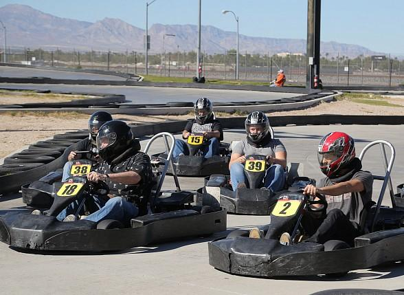 """Mike Hammer's Celebrity Go-Kart Race"" Photo Gallery #3 - Racing Photos"