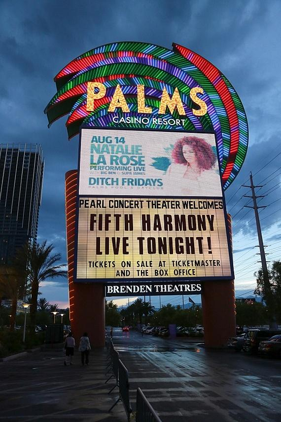 Fifth Harmony performs at The Pearl Concert Theater at Palms Casino Resort